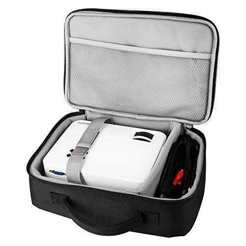 Topvision Projektor-Schutzhülle, Mini-Projektor-Schutzhülle, für DBPOWER T20/T21/GP15, TOPVISION T21/T23 und mehr