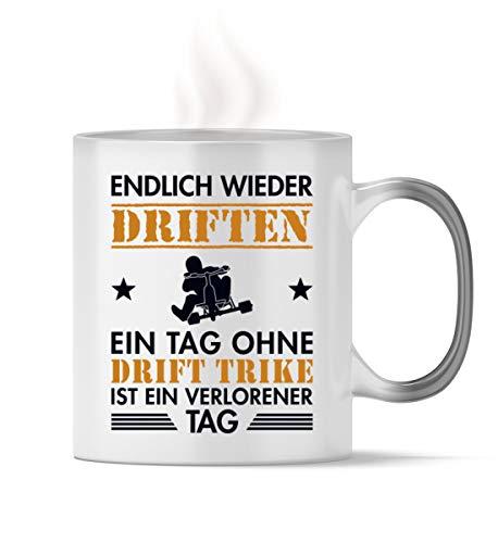 Generisch Trike Drift Dreirad Drift Trike | 01433 - Magic - Tasse -330ml-Schwarz