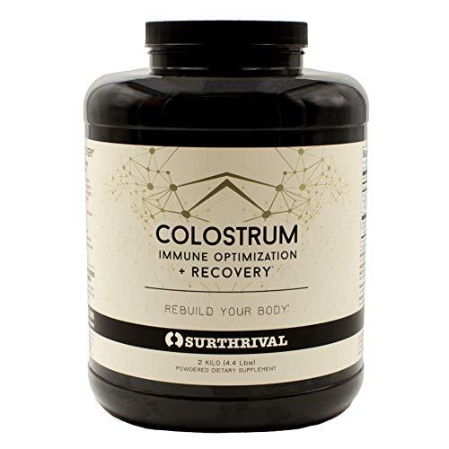 Surthrival: Colostrum Powder (2 Kilo, 4.4lbs),...