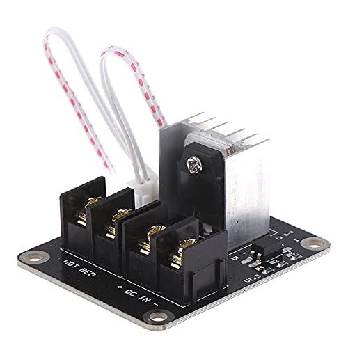 Stampante 3D Hotbed MOSFET. Modulo di espansione Inc 2 Pin piombo Anet A8 A6 A2. Parti della stampante 3D compatibili in nero