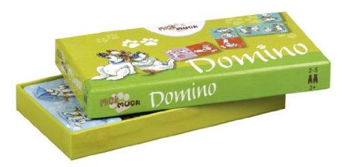 Pagna 20532-15 Spiel Domino 36 Karten Mick & Muck