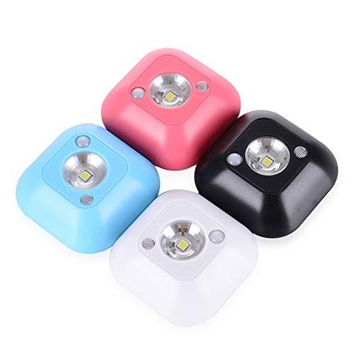 WSXMN Nachtlicht Led Sensor Nachtlicht Induktion Pir Infrarot Lampe Magnetische Infrarot Wandlampe Treppenlicht Smart Light , Pink
