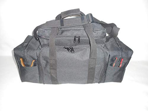 tackle bags 2 BAGS USA Fishing Tackle Bag, Holds 5 Large Trays and All Your Tools, Durable 600 Denier Polyester.