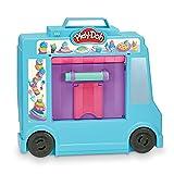 Play-Doh camión de Helado, Juguete de simulación para niños de 3 años y más con 20 Herramientas, 5 Colores compuestos de Modelado, más de 250 Combinaciones posibles, Multicolor (Hasbro F1390)