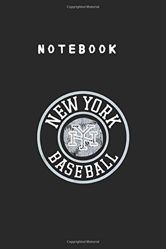 Notebook: Cool Nyc Vintage New York City Distressed Baseball College Ruled Lined Journal Notebook to Take Note and Diary for Kid Men and Women Size 6inch x 9inch