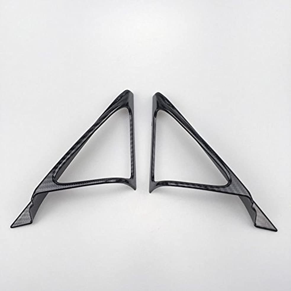 まっすぐにするパニック海藻Jicorzo - 2pcs ABS Plastic A Pillar Triangle Cover Trim For Honda Accord Tenth generation 2018 Car Interior Accessories Styling
