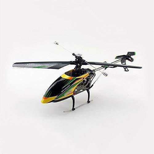 DBXMFZW Soltero Propeller 4 Canal Control Remoto Helicóptero 2.4G RC Aircraft Gyro RC Aircraft Outdoor RC Avión Juguete Día de Fiesta Regalo para Boy Professional, Batería Recargable