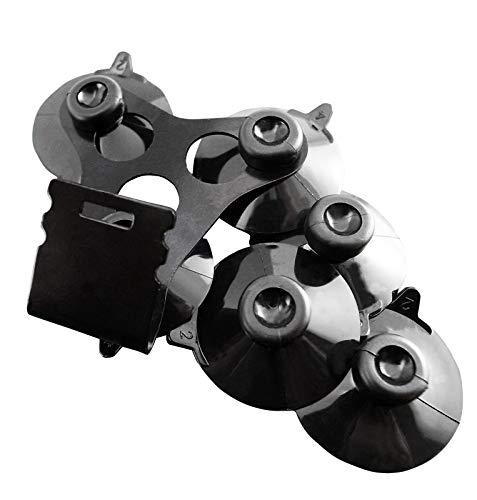 Noa Store 1 x Windshield Mount Bracket + 6 Black Cup Compatible with Cobra Radar Detector Models