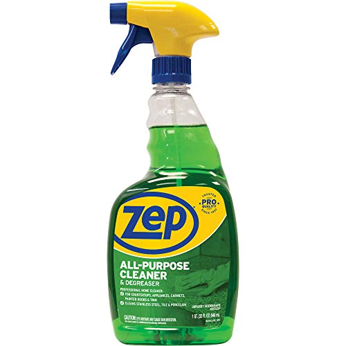 Zep, ZPEZUALL32, All-Purpose Cleaner/Degreaser, 1 Each, Green