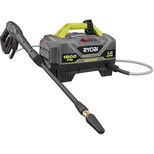 RYOBI 1,800 PSI 1.2 GPM Electric Pressure Washer, RY141820VNM