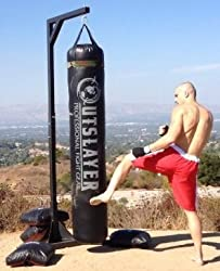 Outslayer Punching Bag with Stand Combo Review
