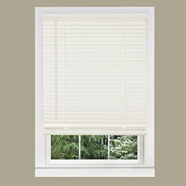Achim Home Furnishings 1-Inch Wide Window Blinds, 32 by 64-Inch, White