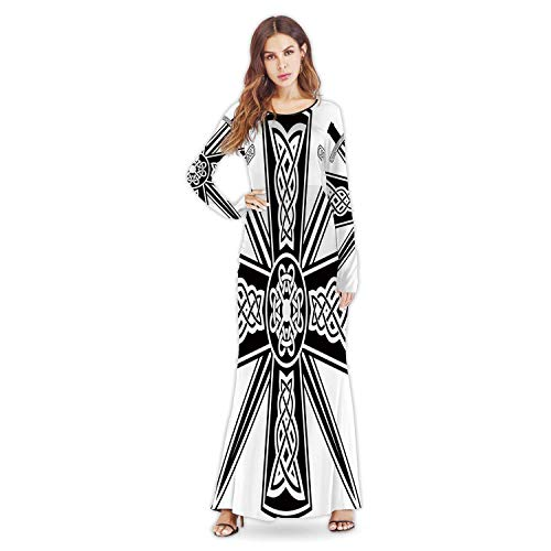Celtic with The ed Swords,Fashion Custom Lady Dresses M