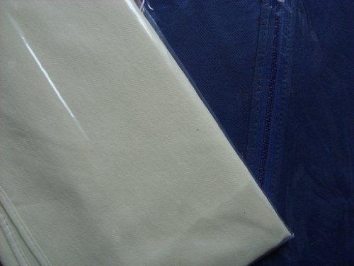 Best choice sac de rangement à vêtements avec fermeture éclair 60 x 105 cm-housse de protection