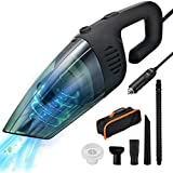 isYoung Car Vacuum Cleaner, 6000PA Corded Handheld Vacuum, 13.12 Foot Cable Auto Dust Buster, Car & Auto Accessories Kit for Cleaning Car Interior
