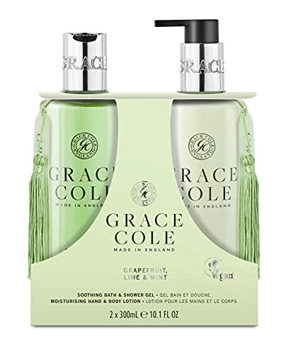 Grace Cole Grapefruit, Lime & Mint Body Care Set 2 x 300ml