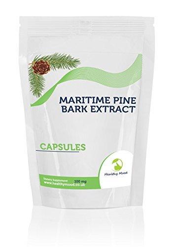 Maritime Pine Bark Extract Dietary Supplement 180 Capsules