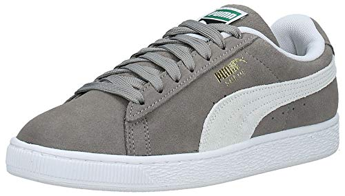 PUMA Suede Classic+, Sneaker Uomo, Grigio (Steeple Gray-White), 38.5 EU