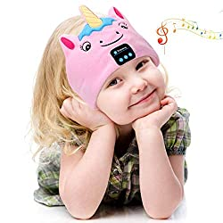 【Latest Wireless Headphones for Kids】 No worries about cables in a mess anymore! Our kids headphones headband adopts with enhanced bluetooth 5.2 tech,can easily pair with any Bluetooth-enabled smartphone or tablet devices,kids can use it for favorite...