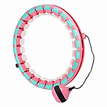 Smart Hula Hoop,Hula Hoops for Adults Weight Loss Smart 24 Sections Detachable Hoola Hoop Improved Magical Fitness Exercise Weighted Smart Hoola Hoop,Suitable for Adults and Children