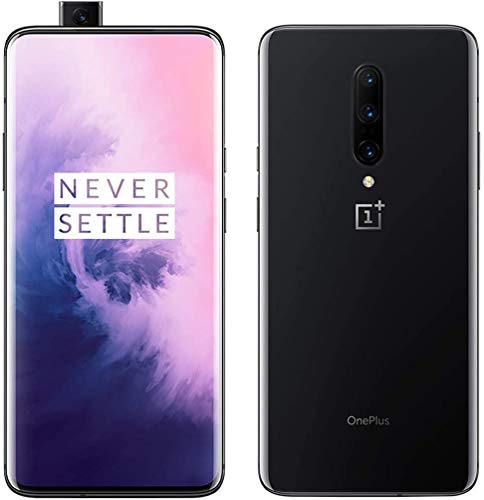 OnePlus 7 PRO 256GB ROM + 8GB RAM Dual-SIM (GSM, CDMA) Factory Unlocked 4G/LTE Smartphone - International Version (Mirror Grey) (Renewed)