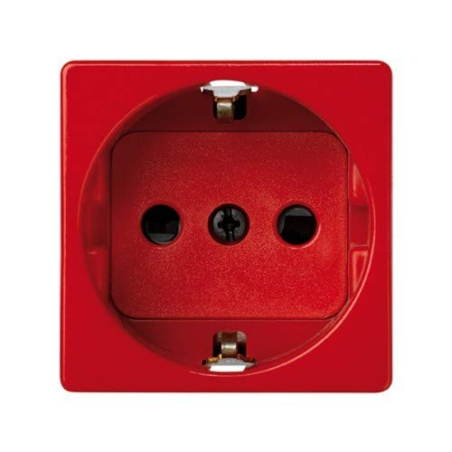 Simon - 27432-68 base enchufe 2p+tt schuko s-27 rojo Ref. 6552765059