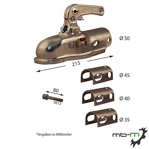 mb-m SPP Universal Zugkugelkupplung BC-2300 2300kg inkl. Reduzierstücken