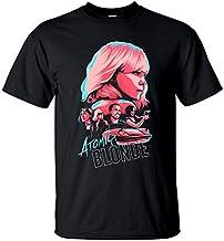 kanyeah Atomic Blonde V2, David Leitch, Movie Poster, T-Shirt (Black) S-5XL