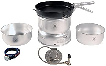 Trangia - 25-3 Ultralight Camping Cookset | Includes: Gas Stove, 2 Pots, 1 Frypan, Upper & Lower Windshields, Pot Gripper,...