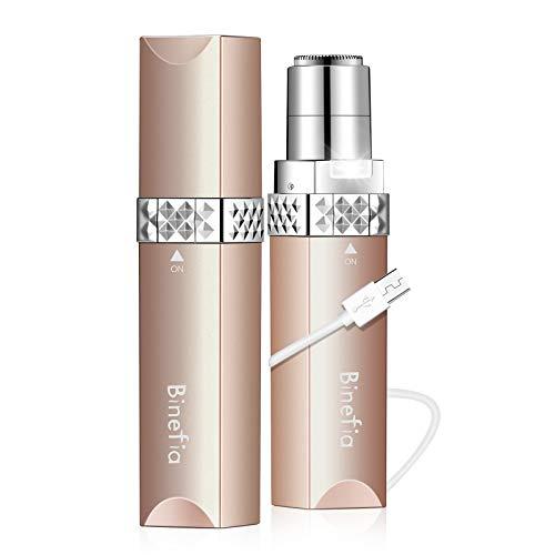 Facial Hair Remover Women,Binefia USB Rechargeable Facial Hair...