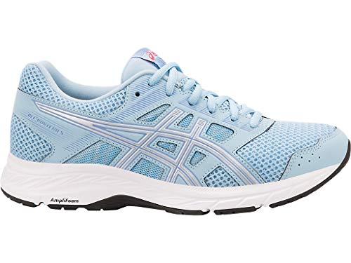 ASICS Women's Gel-Contend 5 Running Shoes, 9M, Skylight/Silver