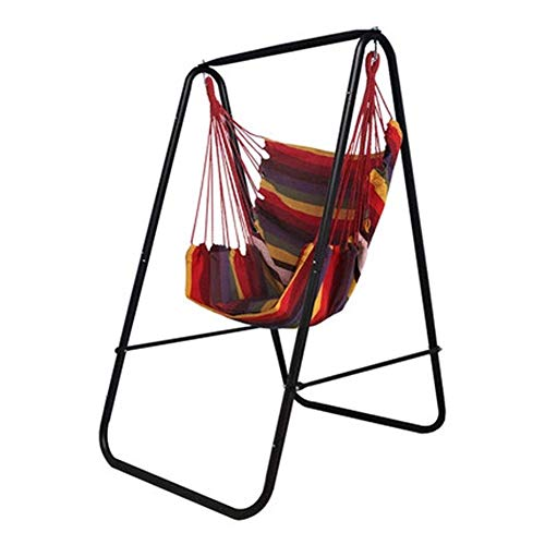 Dirgee Silla Mecedora del hogar Swing Colgando canastas para niños Soporte de Columpios para niños...