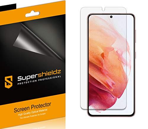 Supershieldz Displayschutzfolie für Samsung Galaxy S21, blendfrei und Anti-Fingerabdruck, matt, 6 Stück