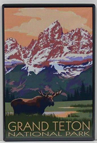 Grand Teton National Park Refrigerator Magnet. Wyoming