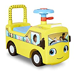 LITTLE BABY BUM - From Little Baby Bum, the wildly popular preschool learning video series comes Buster the Bus, this friendly, interactive ride-on toy helps coordination, balance, and gross motor skills, ages: 12 months to 3 years INTERACTIVE FUN - ...