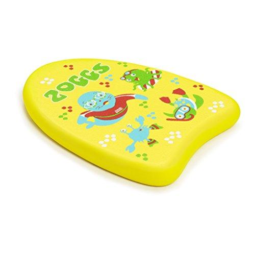 Zoggs Tabla de natación, Bebés Unisex, Amarillo, 3-12 años