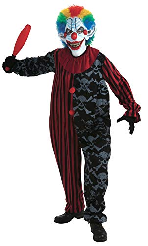 Forum Novelties Men's Creepo The Clown Costume, Multi, One Size
