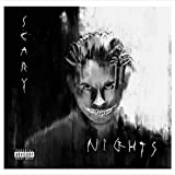 Yourenyuan G-Eazy (Scary Nights) 2019 Cover Album Poster Print Wall Art Picture Prints Canvas Home Decor Artwork -60X60Cm No Frame