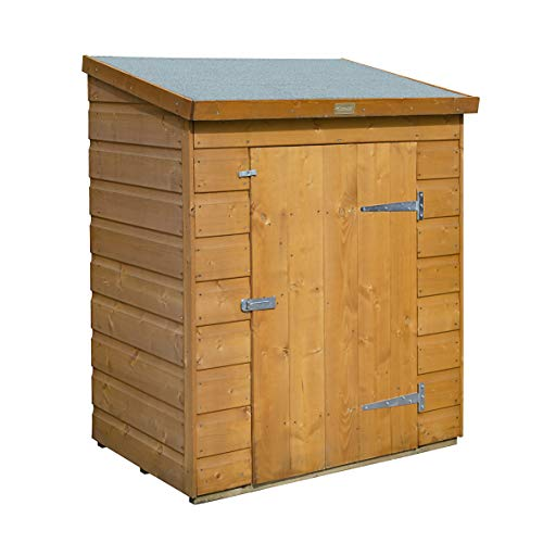 Rowlinson Patio Store Storage, Chest, Shed, Honey Brown