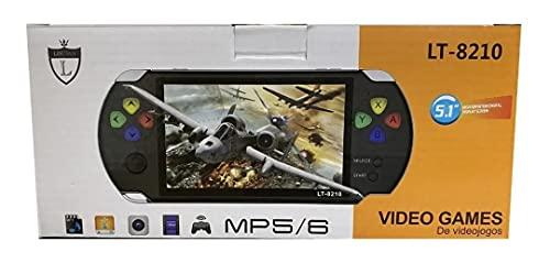Video game portátil LT-8210 tela 5.1 jogos clássicos