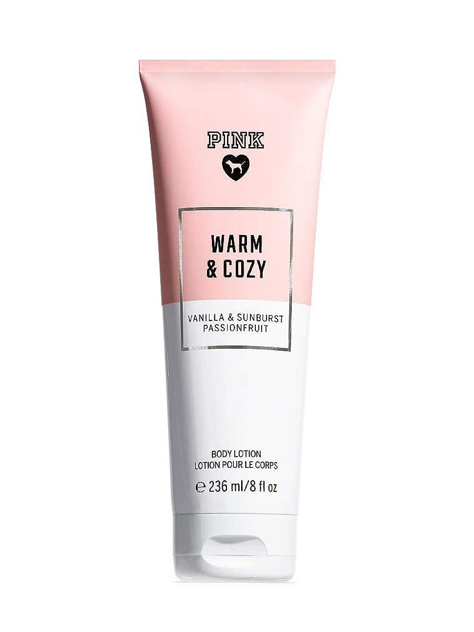 国民クロール混乱させるPINK Warm & Cozy Body lotion [並行輸入品]