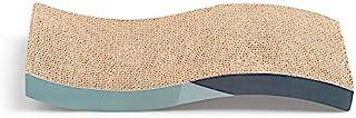 AntSuki 爪とぎ S形猫用爪とぎ ダンボール 猫おもちゃ 段ボール スクラッチャー ベッド型 ソファ インテリア 可愛い キャット 高密度 耐久 爪磨き 家具破壊防止 運動不足改善 ストレス解消 両面使用可能