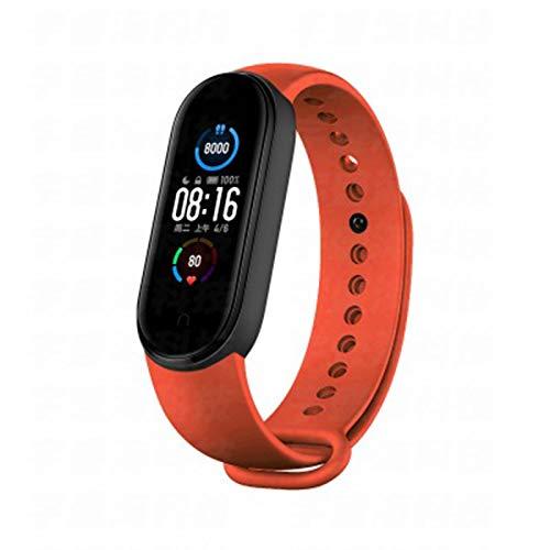 LDJ Band 5 Smart Bracelet Smartband Hombres Mujeres Llamadas Ritmo Cardíaco Fitness Tracker Bluetooth Impermeable Reloj para IOS Android E