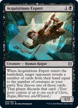 Magic: The Gathering - Acquisitions Expert - Foil - Zendikar Rising