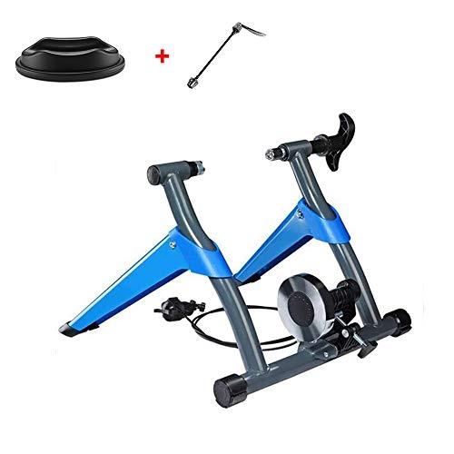 Huanzhchp Indoor Cycle Roller voor training, fiets voor binnen en buiten, met magneetrem verandert de cyclus in een fysieke vorm.