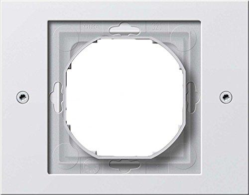 Gira Rahmen 021166 1fach TX_44 (WG UP) reinweiss