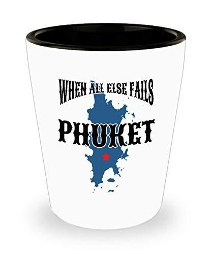 Phuket Shot Glass Funny Thailand Souvenir