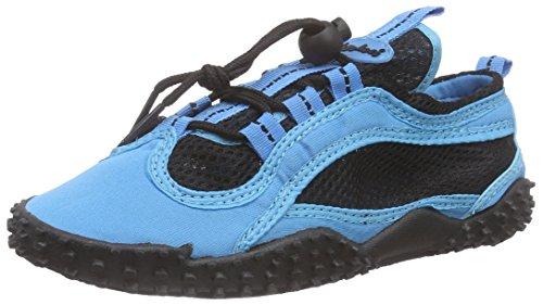 Playshoes Unisex-Erwachsene Aqua-Schuhe Surfschuhe, Blau (blau 7), 39 EU