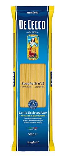 Pasta Spaghetti n° 12 500 gr. - De Cecco