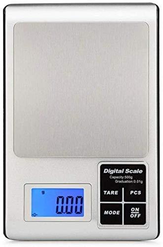 Escala electrónica, escala de alimentos digitales Balanzas electrónicas, escalas de cocción portátil para hornear LCD Retroiluminación de pantalla con función de conteo de PCS ( Color : - , Size : - )